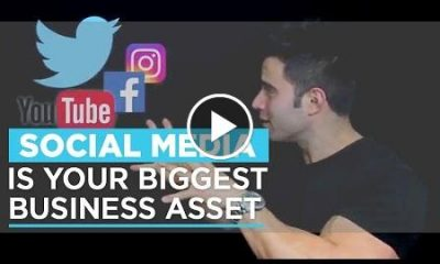 business asset, social media